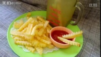 #momscook美食菜谱#之吃货必备快手炸薯的做法视频·麦当劳的味道