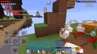 【MC我的世界面包J】单人解说【动物空岛第②部EP3】重磅腿粗第二部!牛牛和鸡鸡的体内探索 -Minecraft游戏实况解说 我的世界籽岷炎黄奇怪君明月庄主
