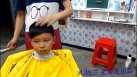 原创:理发店发型:男士发型精剪、理发视频教学