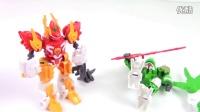 斗龙战士4之双龙核 雷吉兽龙玩具拆封试玩