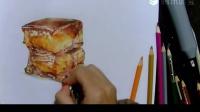 【艺达】零基础快速入门——彩铅超写实红烧肉