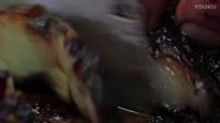 最美味的猪肉培根!  美味的 欧洲食品 厨师在森林里 美味的食物视频 BEST SMOKED BACON EVER!