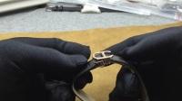 218 卡地亚手表皮带折叠扣使用和佩戴方法