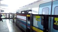 广州地铁5号线 南车青岛四方(05142)(广州火车站→坦尾)+坦尾出站