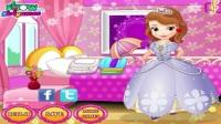 小公主苏菲亚洗衣服