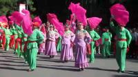 秧歌 长春凯旋街道秧歌队 儿童公园秧歌大赛