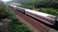 客车Y472[西宁-北京西]洛阳西站两道停车-陇海线火车视频