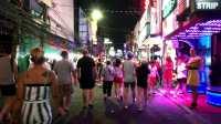 泰国芭提雅东方公主号、红灯区街景