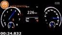 2015高尔夫Golf 7 R (292 HP) 0-270 km-h加速