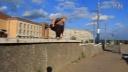【洁癖男】2015红牛圣托里尼跑酷大赛提交视频:俄罗斯Shteyngauer Denis