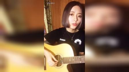吉他弹唱#粤语#歌名: 大哥 - 卫兰 微博@阿... 阿細-CHEUNG