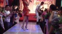 香港小姐参加湛江中国城老板儿子的婚礼现场!